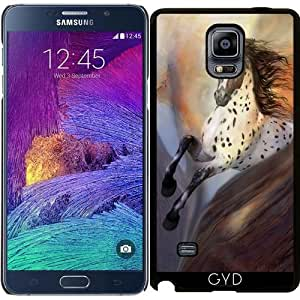 Funda para Samsung Galaxy Note 4 (N910) - Caballo Salvaje 2 by Gatterwe
