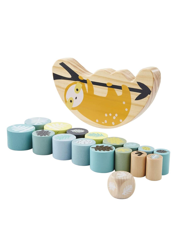 VERTBAUDET Jeu d/équilibre en bois Paresseux Multicolore TU