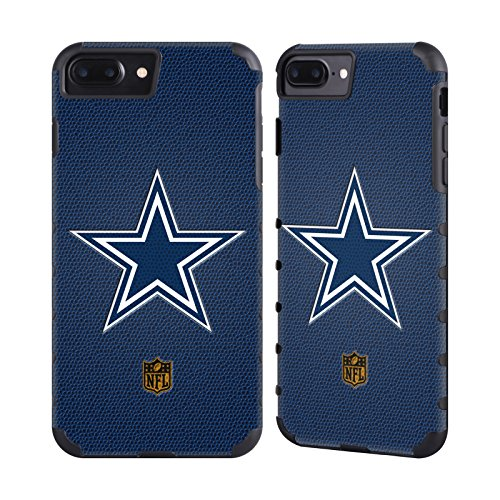 Nfl Cowboys Dallas Case (Official NFL Football Dallas Cowboys Logo Gold Gripper Case for Apple iPhone 7 Plus/iPhone 8 Plus)