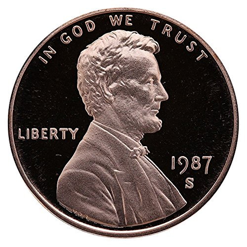 1987 S Gem Proof Lincoln Memorial Cent Penny Proof US Mint