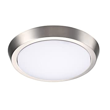 Getinlight 9 inch flush mount led ceiling light with etl listed getinlight 9 inch flush mount led ceiling light with etl listed soft white 3000k mozeypictures Gallery