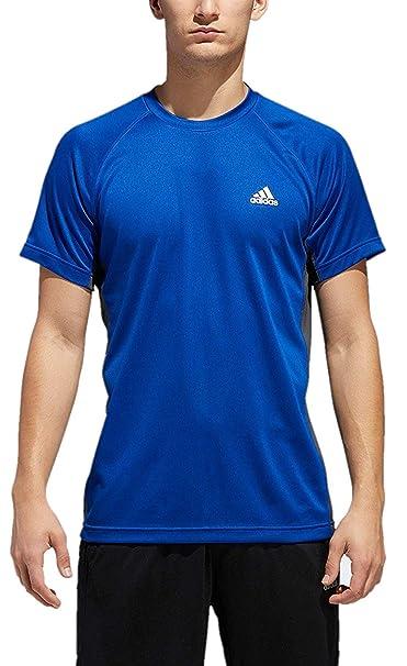 9c84880a180 Amazon.com: adidas Men's Essentials Tech Tee (Small, Collegiate ...