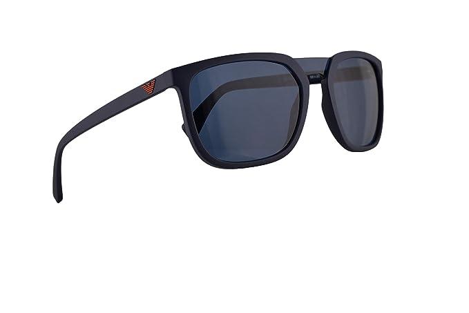 Emporio Armani EA4123 Gafas De Sol Azul Mate Con Lentes Azul ...