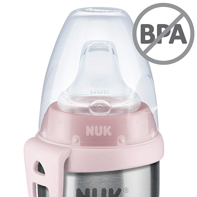 NUK Active Cup - Cuerpo de la botella de acero inoxidable de ...