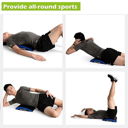 Amazon.com: Benificer Ab - Alfombrilla de ejercicio con ...