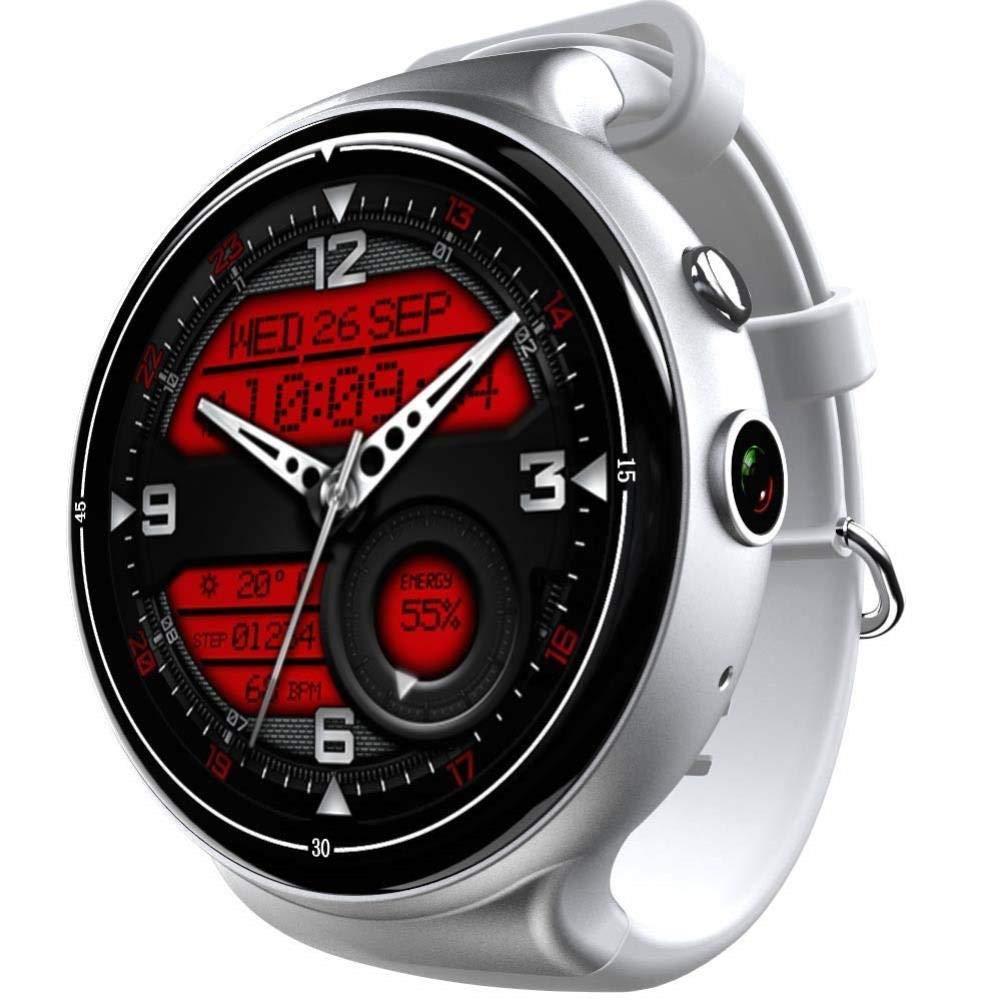 フィットネストラッカー、歩数計の腕時計と睡眠モニターカロリーカウンター時計、子供、女性と男性のためのスリムなスマートブレスレット (色 : シルバーグレー) B07QP5DFXF シルバーグレー