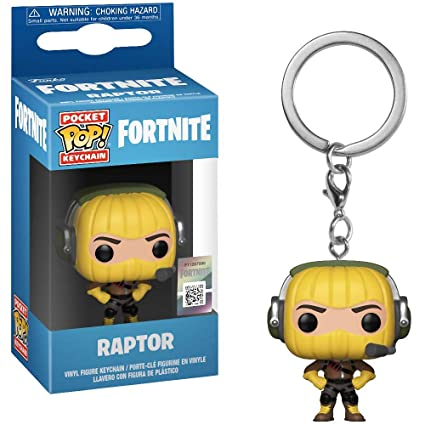 Amazon.com: Funko Raptor: Fortnite x Pocket POP! Mini ...