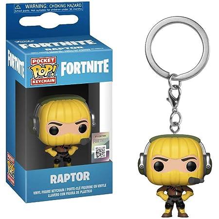 Amazon.com: Funko Raptor: Fortnite x Pocket POP! Mini ...