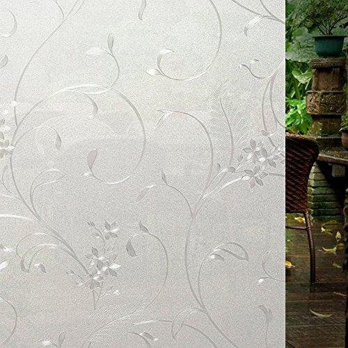 self-adhesive-window-film-door-sticker-white-flower-3ft-x-65ft-90-x-200-cm