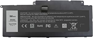 Binger F7HVR Replacement Laptop Battery Compatible With Dell Inspiron 15 7537 / Insprion 17 7737 Series Part No.062VNH Y1FGD G4YJM T2T3J (14.8V 58WH)