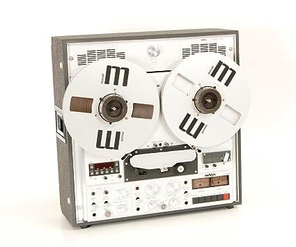 Revox pr de 99 MK II magnetófono con maletín y monitor