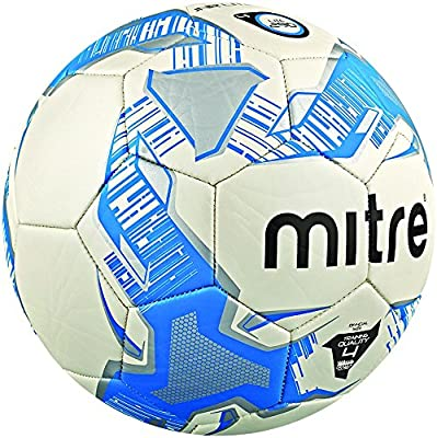 Mitre Trainingsfußball Junior Lite - Balón de fútbol, Color Blanco ...