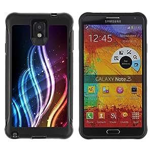 """Hypernova Defender Series TPU protection Cas Case Coque pour SAMSUNG Galaxy Note 3 III / N9000 / N9005 [Resumen de color de la llama""""]"""