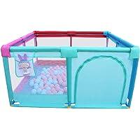 WYQ Parque Infantil Bebe para Uso Interior y Exterior, Colorear Playard Rectangular Impermeable Seguridad