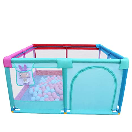WYQ Parque Infantil Bebe para Uso Interior y Exterior, Colorear ...