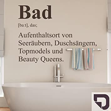 DESIGNSCAPE® Wandtattoo Bad Definition 2 - Badezimmer Wandtattoo ...