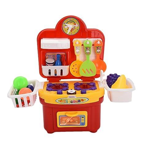 Musica Cucina Giocattoli per i Bambini Giochi di Ruolo di Cucina ...