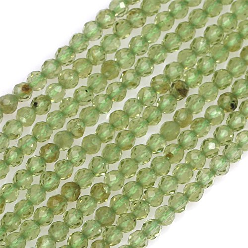 Aaa Furniture Wholesale (2mm AAA Grade Round Faceted Spacer Beads for Jewelry Making 15'' (Peridot))