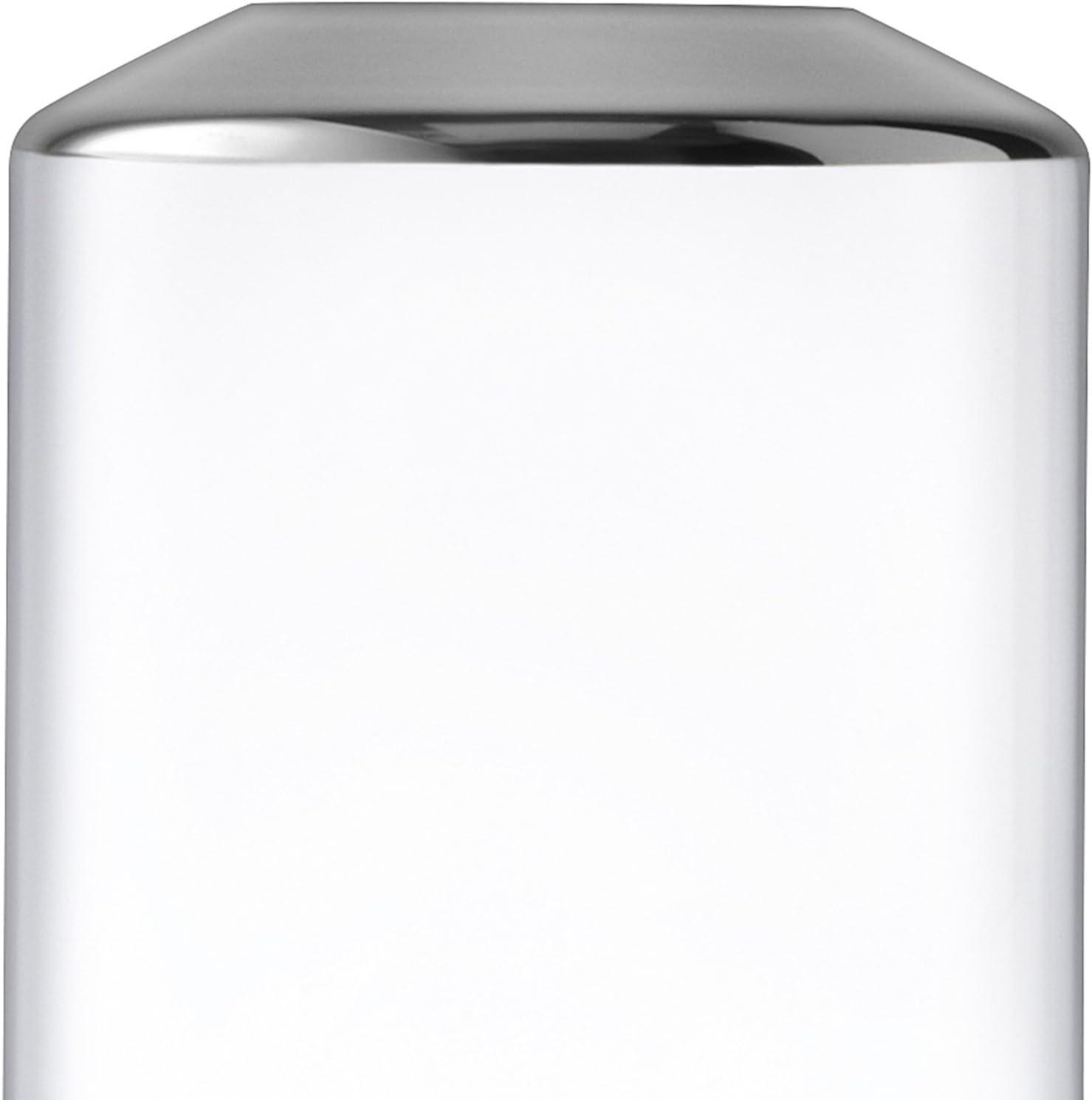 d/écor/é LSA International Space Vase H25/cm Platine Clair