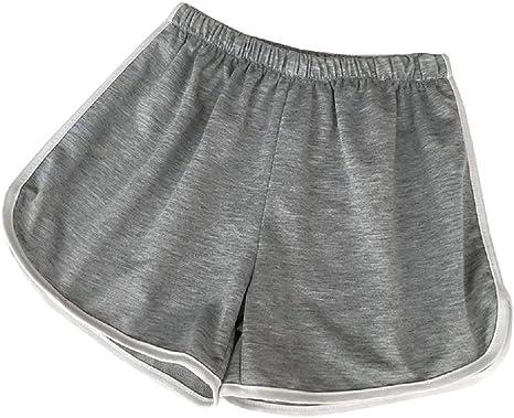 Kiralove Pantalones Cortos Mujer Pantalones Cortos Deportes Mar Playa Nina Color Gris Talla M Shorts Amazon Es Ropa Y Accesorios