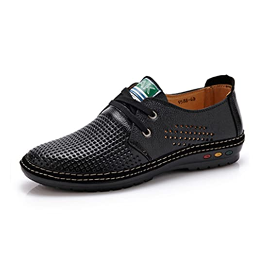 Men Shoes Summer Breathable Soft Driving Men's Handmade chaussure homme Net Surface Loafers