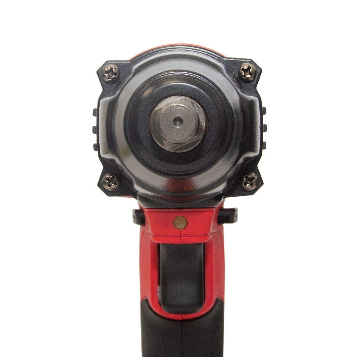 SCHMIDT security tools Akku-Schlagschrauber IW-320 Li-Ion 18 V DC 3,0 Ah 320 Nm LED-Licht vierkant 13 mm 1//2 Zoll mit Akku und Ladeger/ät inkl Profi-Koffer mit Zubeh/ör