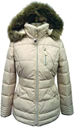 8b7288ed971 Laundry By Design Women s Short Quilted Puffer Jacket L Pearl