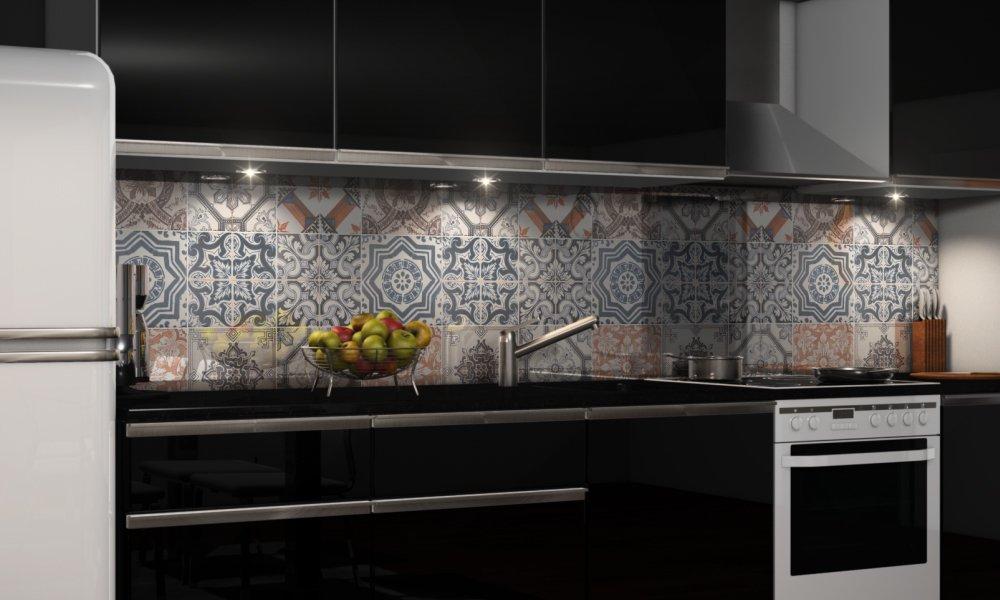 Küchenrückwand Premium Hart-PVC 0,4 mm selbstklebend Spritzschutz Küche Küche Küche Fliesenaufkleber & Fliesenfolie B079L9TXKH Wandtattoos & Wandbilder 223d04