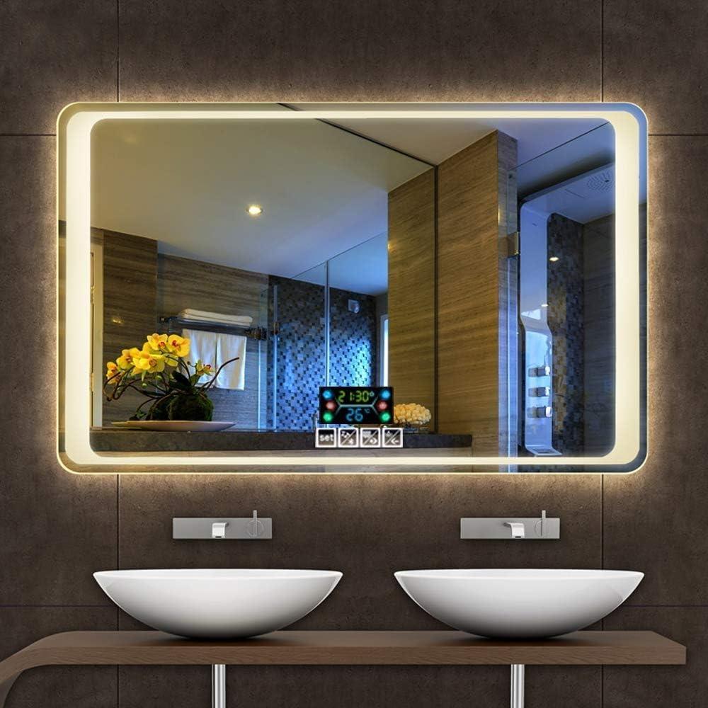 Espejo de baño que no se empaña con funciones inteligentes