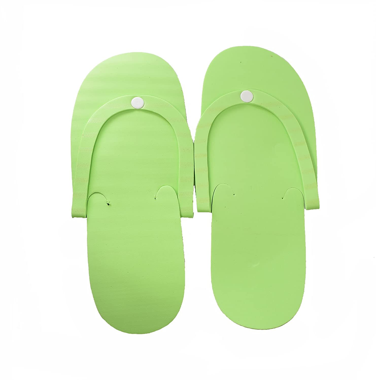 ab4dba5e7201 ... 12 Pairs Disposable Foam Pedicure Slippers Flip Flop Salon Nail Spa  Cre8tion ...