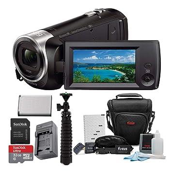 Amazon.com: Sony grabación de vídeo HD hdrcx405 Handycam ...