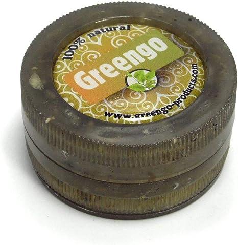 Greengo Reciclado Eco Pl/ástico 3pt Grinder 50mm