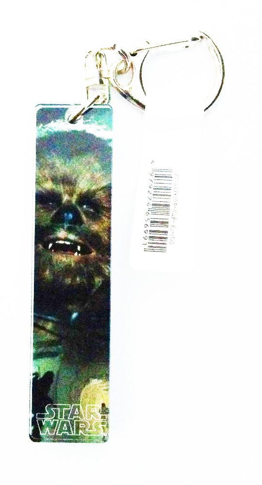 stick Llavero del acrilico de Star Wars Chewbacca: Amazon.es ...