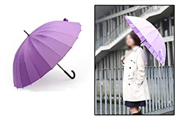 Sunny Umbrella Hombre y Mujer Paraguas Manual mango largo paraguas soleado paraguas doble tres personas aumentan