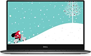 "Dell XPS 13 9360 13.3"" FHD Laptop with Win 10 Pro (7th Generation Intel Core i7, 8GB RAM, 256 GB SSD, Silver)"