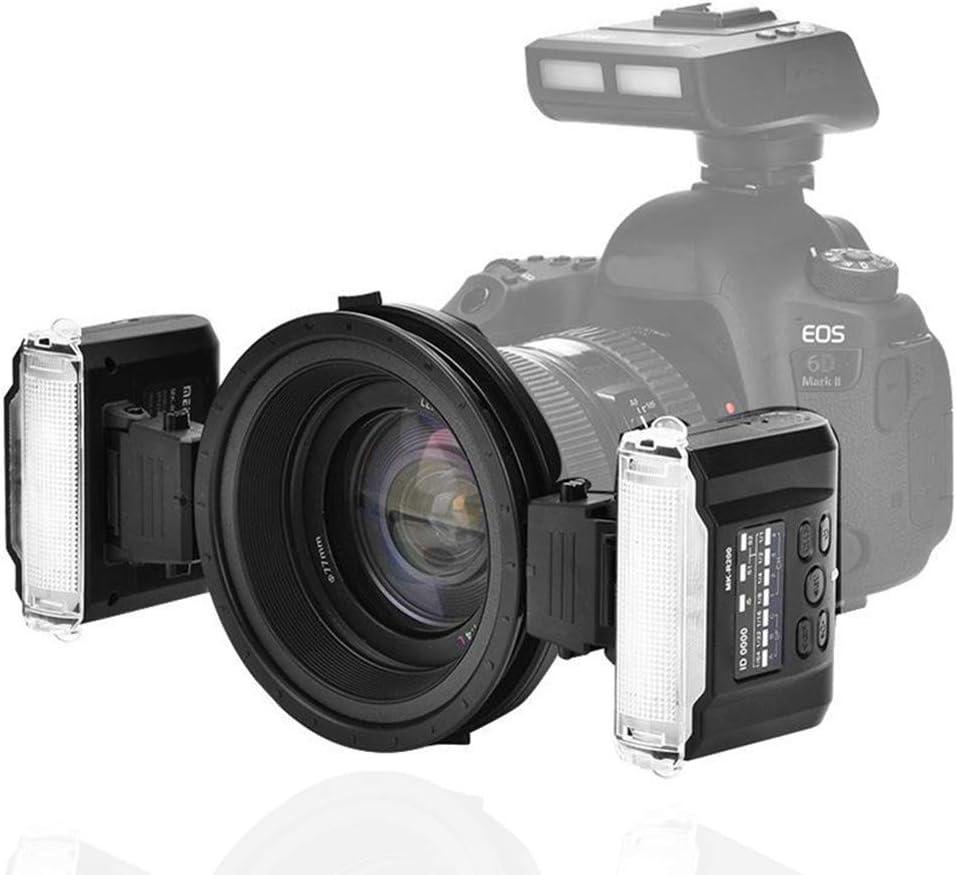 Xinwoer Camera Flash Speedlite Trigger Wireless Dual Flash Speedlite Trigger Macro Photography with S1//S2 Mode,for Nikon Camera