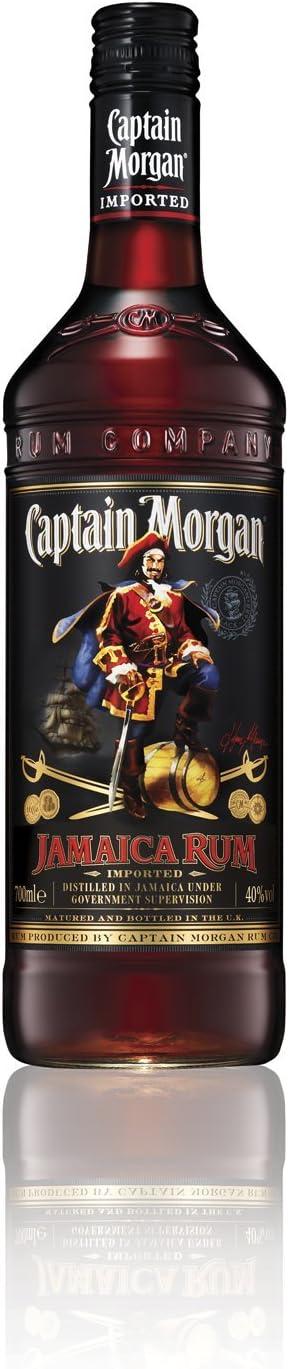 Captain Morgan Jamaica Rum Ron, 700ml
