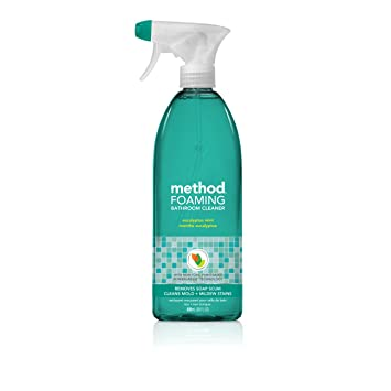 Terrific Method Foaming Bathroom Cleaner Eucalyptus Mint 28 Ounce 8 Count Interior Design Ideas Jittwwsoteloinfo