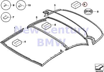 BMW Genuine Hardtop Retractable Seals Seals Gasket Fastening Set 328i 335i M3 328i 335i 335is M3 428i 428iX 435i 435iX M4