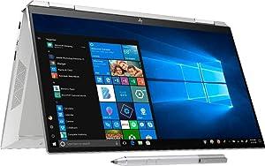 "HP Spectre x360-13.3"" FHD Touch - 10gen i7-1065G7-8GB - 512GB SSD 32GB Optane - Silver"
