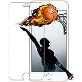 iPhone 8 Plus ガラスフィルム,JHAI iPhone8 Plus フィルム 日本製素材旭硝子製 3D touch対応 高鮮明 超薄型0.15mm(iPhone 8 Plus/ iPhone 7 Plus 5.5インチ用)