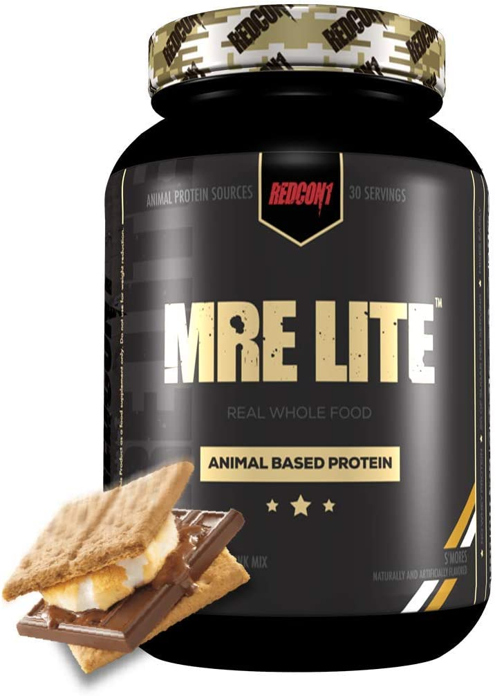Redcon1 MRE Lite, Protein Meal Replacement (Smores)