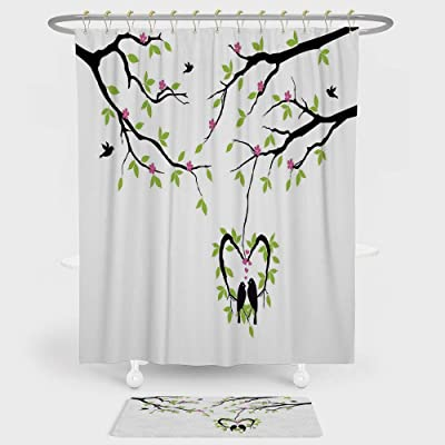 Collections Etc Cardinal Holiday Shower Curtain Home Kitchen