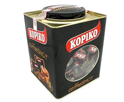 LATA CARAMELOS DE CAFÉ KOPIKO 1 KG: Amazon.es: Alimentación y bebidas