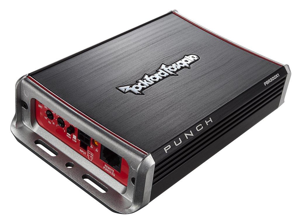 Rockford Fosgate PBR300X1 Punch BRT 300-Watt Ultra-Compact Mono Amplifier