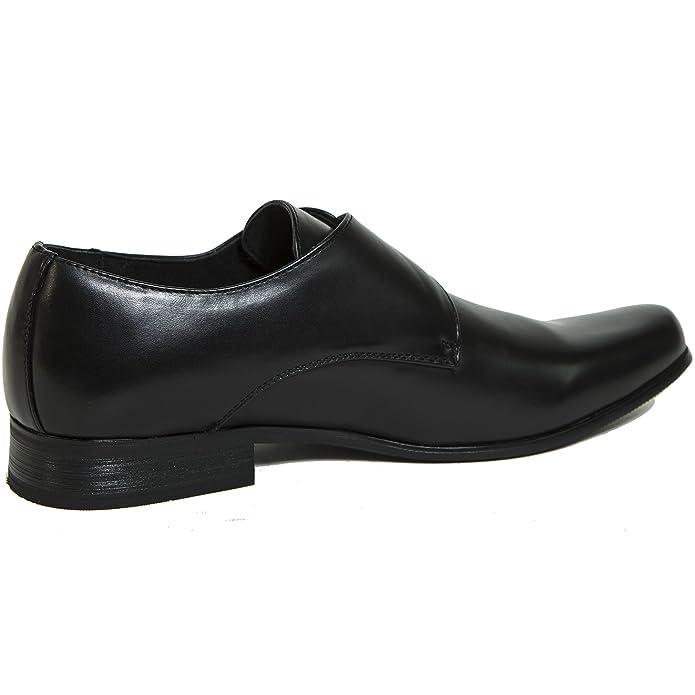 Amazon Alpine Swiss Men's Uster Monk Strap Loafers Lined Slip Cool Pilgrim Shoe Sewing Machine Company