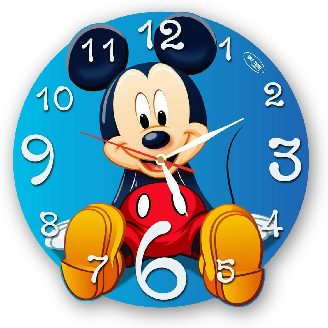 A picture of the micky mouse clock