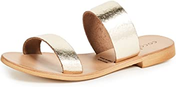 38329134f5003f Cocobelle Women s Leather Slide Sandals