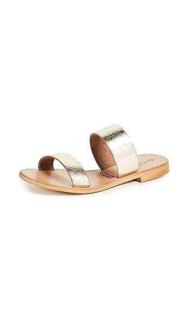 2c54c2c4e2fd Cocobelle Women s Leather Slide Sandals