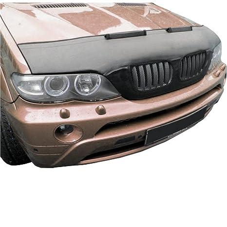 hematron SS74 – Coche capó máscara capucha Auto sujetador de piel apto para BMW X5 (